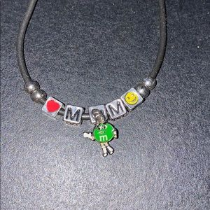 M&M bracelet Ms. Green